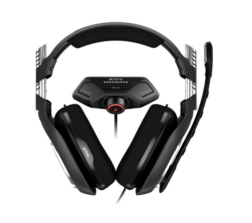 ASTRO A40 TR Gaming Headset & MixAmp M80 - Black
