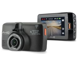MIO MiVue 798 Quad HD Dash Cam - Black