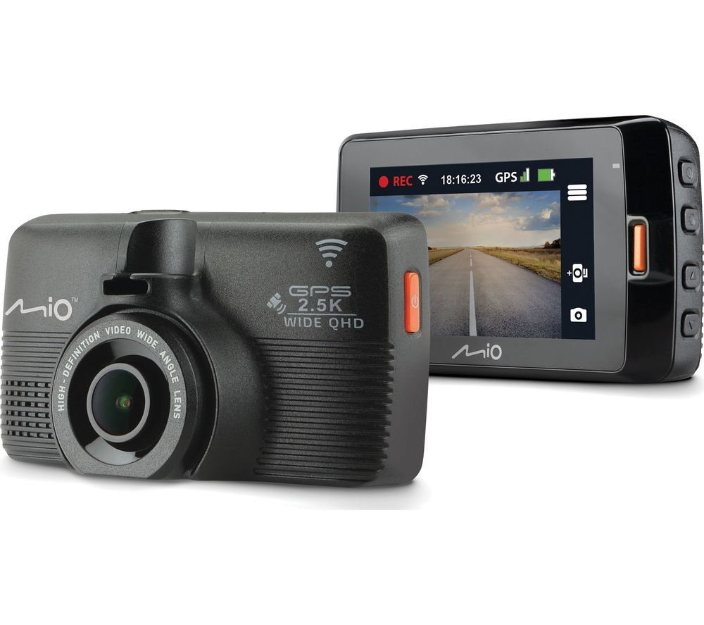 MiVue 798 Quad HD Dash Cam – Black, Black