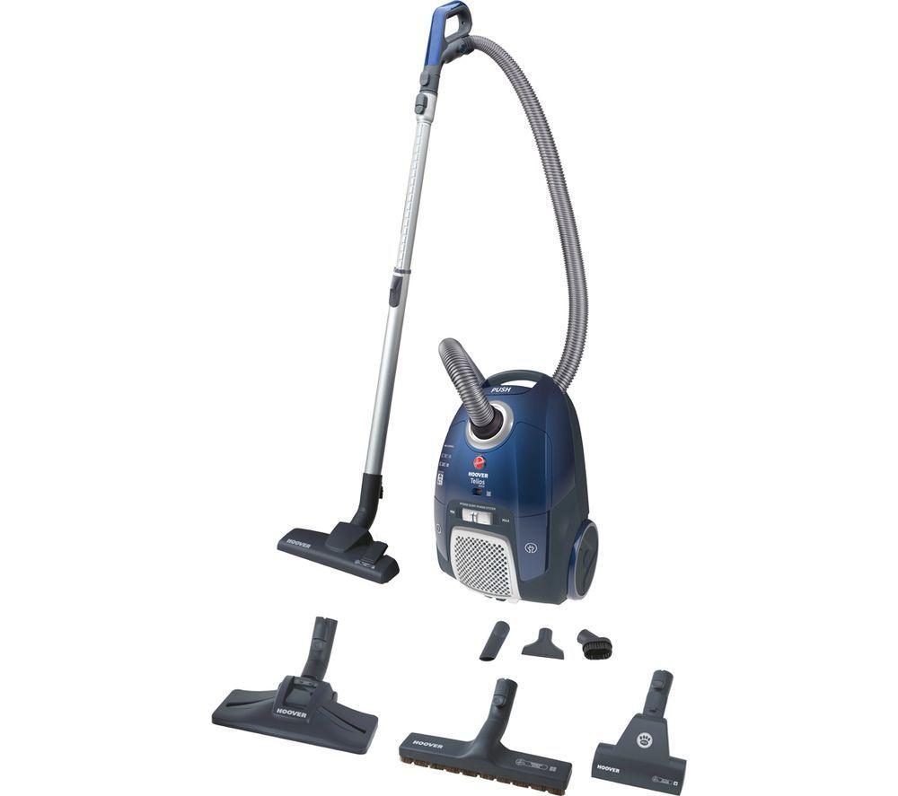HOOVER Telios Extra TX50PET Cylinder Vacuum Cleaner - Blue