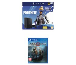 SONY PlayStation 4 Pro with Fortnite Neo Versa & God of War Bundle