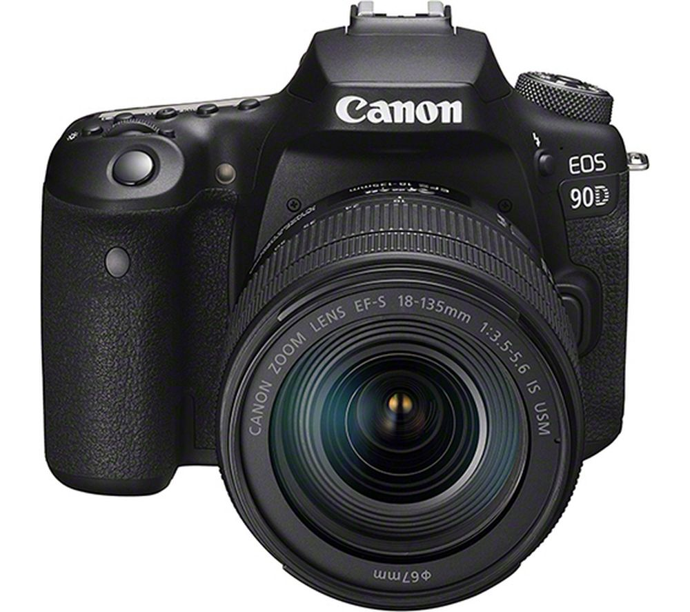 CANON EOS 90D DSLR Camera with EF-S 18-135 mm f/3.5-5.6 IS USM Lens