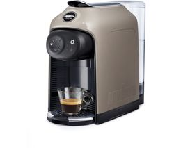 A Modo Mio Idola Coffee Machine - Greige