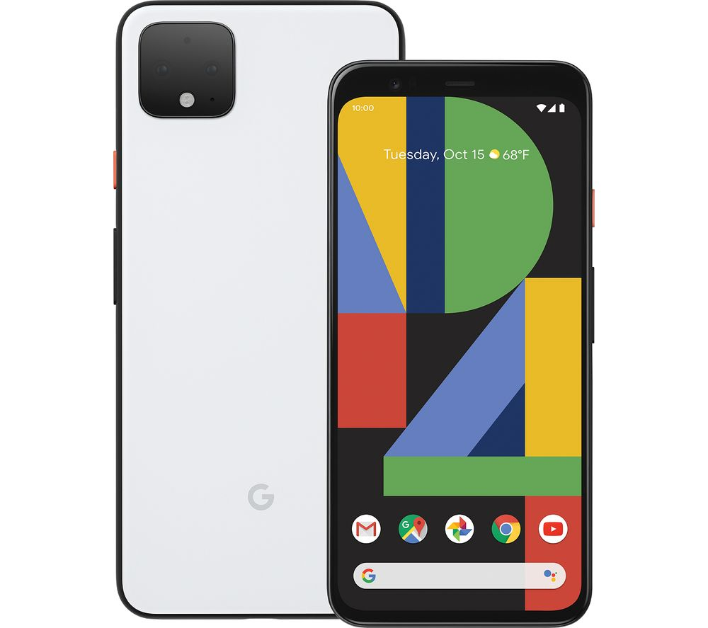 GOOGLE Pixel 4 XL - 64 GB, Clearly White