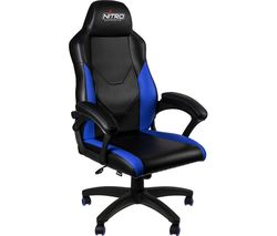 NITRO CONCEPTS C100 Gaming Chair - Black & Blue