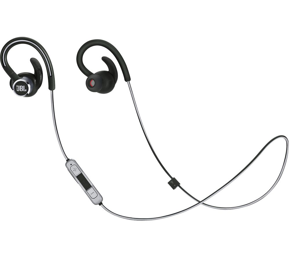 JBL Reflect Contour 2 Wireless Bluetooth Sports Earphones - Black