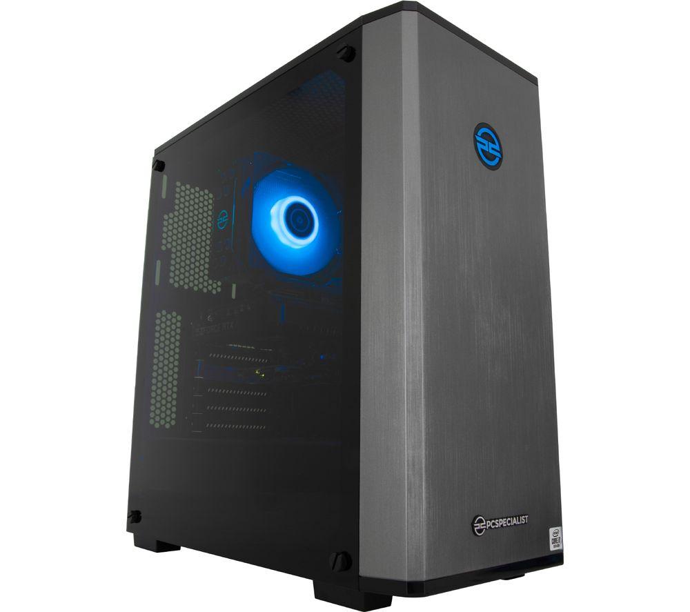 PC SPECIALIST Vortex SR Gaming PC - Intel® Core™ i7, RTX 2060, 2 TB HDD & 512 GB SSD