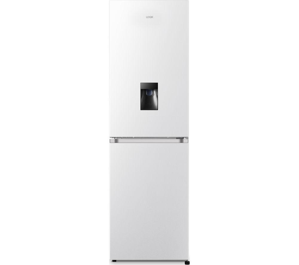 LOGIK LSD55W20 50/50 Fridge Freezer - White, White
