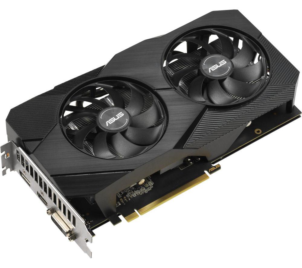ASUS GeForce GTX 1660 Super 6 GB Dual EVO OC Graphics Card