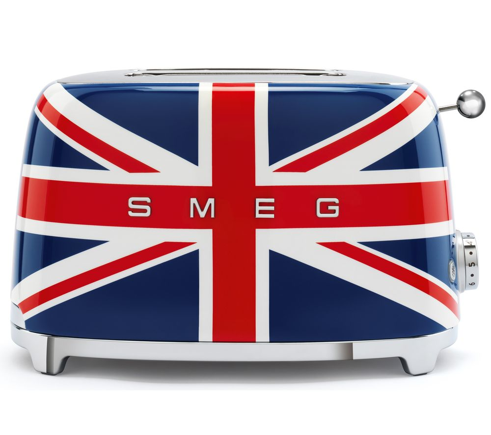 SMEG 50's Retro TSF01UJUK 2-Slice Toaster - Union Jack