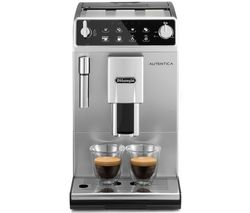 DELONGHI Autentica ETAM 29.510.SB Bean to Cup Coffee Machine - Silver & Black Best Price, Cheapest Prices