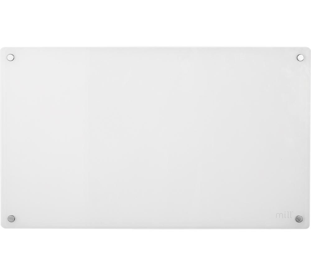 MILL AV600WIFI Smart Glass Panel Heater - White