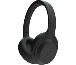 A11/800 Wireless Bluetooth Noise-Cancelling Headphones - Black