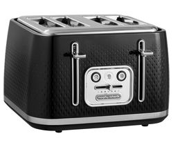 Verve 243010 4-Slice Toaster - Black