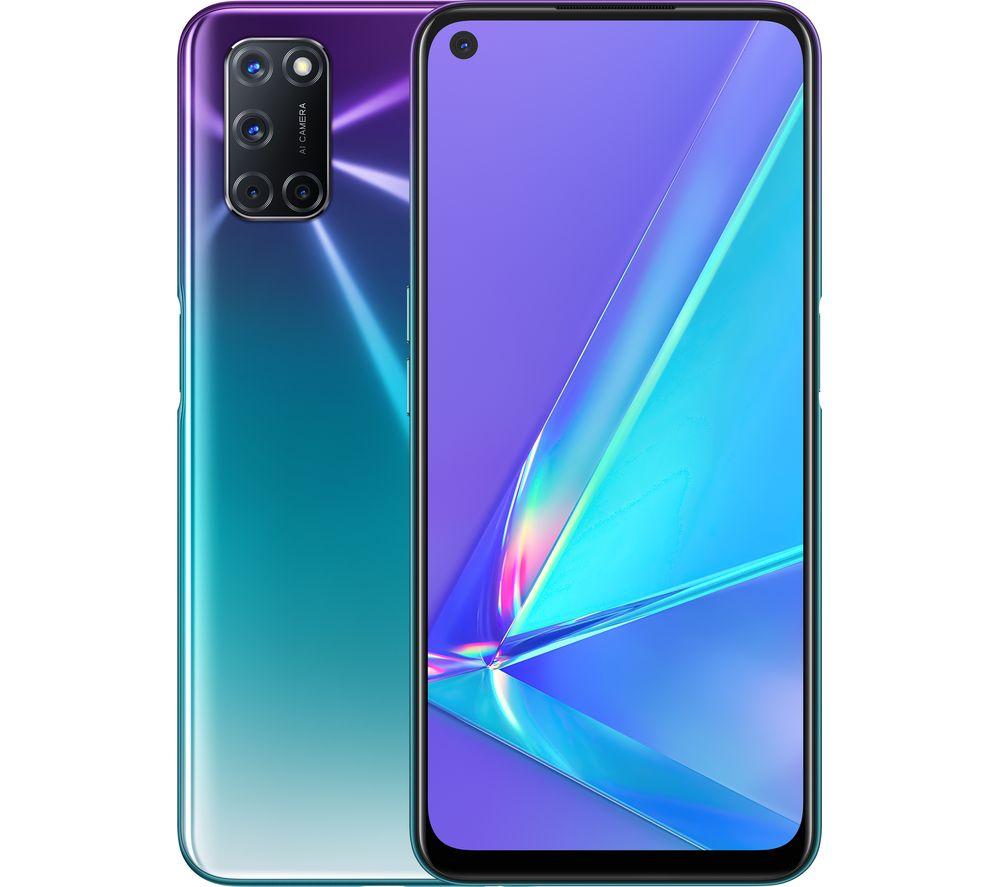OPPO A72 - 128 GB, Aurora Purple