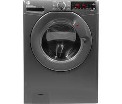 H-Wash 300 H3W 68TMGGE 8 kg 1600 Spin Washing Machine - Graphite