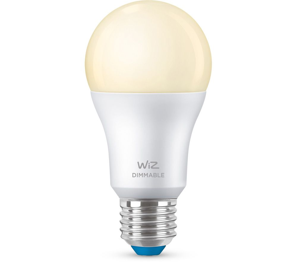 WIZ CONNECTED A60 Tunable White Smart Light Bulb - E27, White