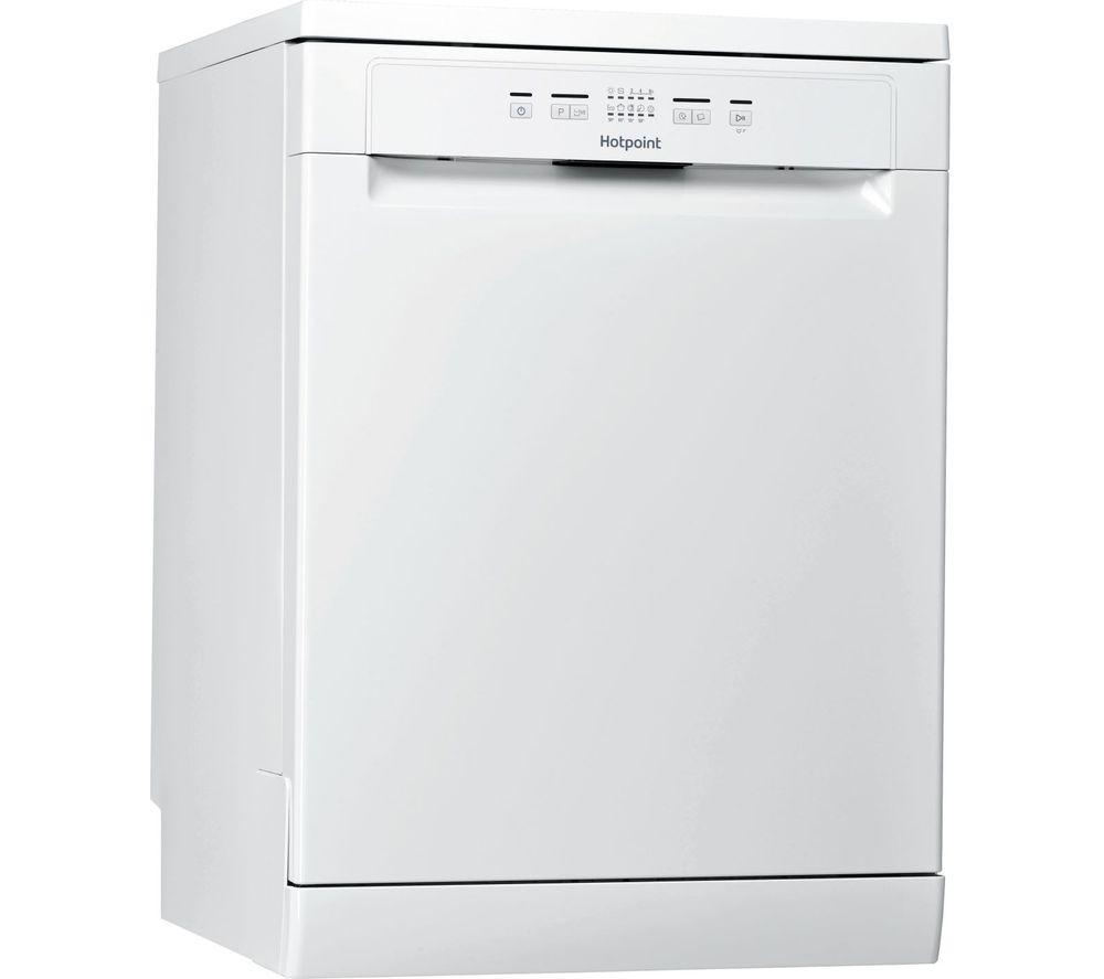 HOTPOINT HFC 2B19 UK N Full-size Dishwasher - White