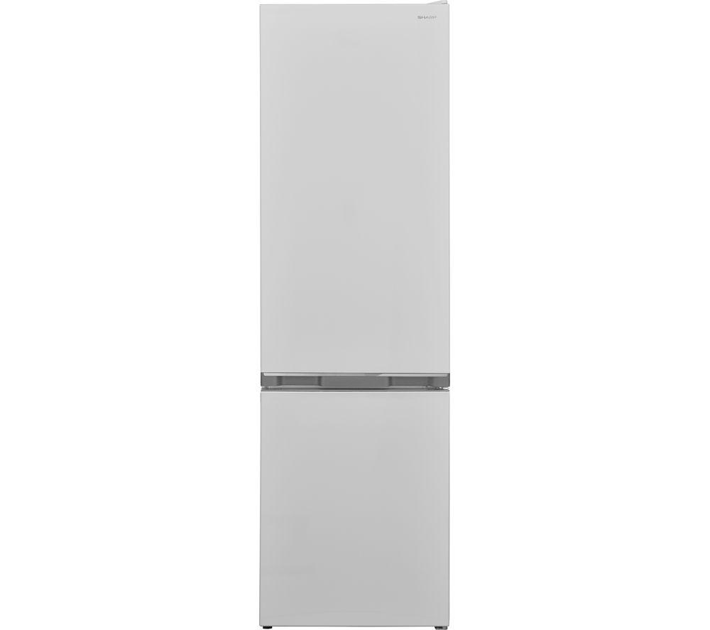 SHARP SJ-BB05DTXWF 60/40 Fridge Freezer - White, White