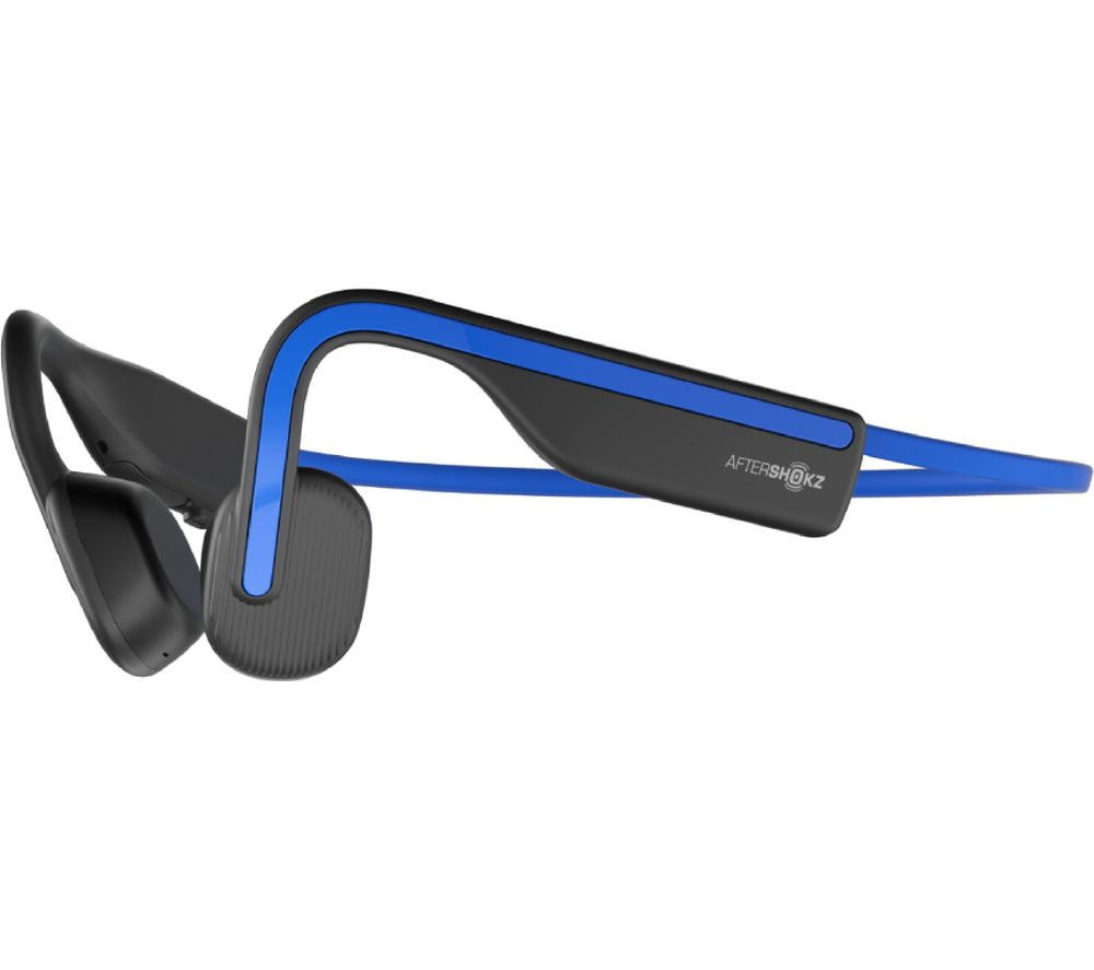 AFTERSHOKZ OpenMove Wireless Bluetooth Headphones - Elevation Blue