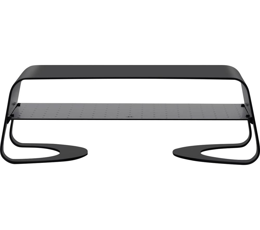 Image of TWELVE SOUTH Curve Riser Monitor Stand - Black, Black
