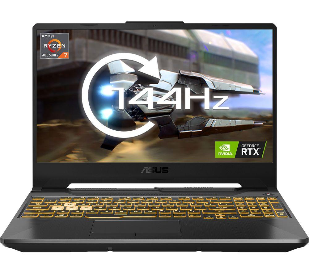 "Image of ASUS TUF Dash A15 15.6"" Gaming Laptop - AMD Ryzen 7, RTX 3070, 512 GB SSD"