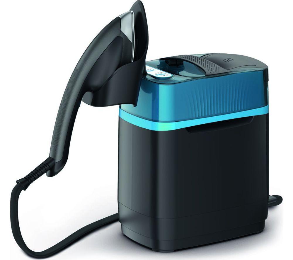 TEFAL Cube UT2020 Clothes Steamer - Blue & Black