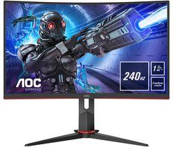 "C32G2ZE/BK Full HD 31.5"" Curved WLED Gaming Monitor - Black"