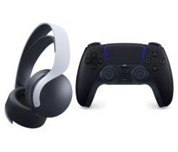 DualSense Controller & PULSE 3D Wireless PS5 Headset Bundle - Midnight Black