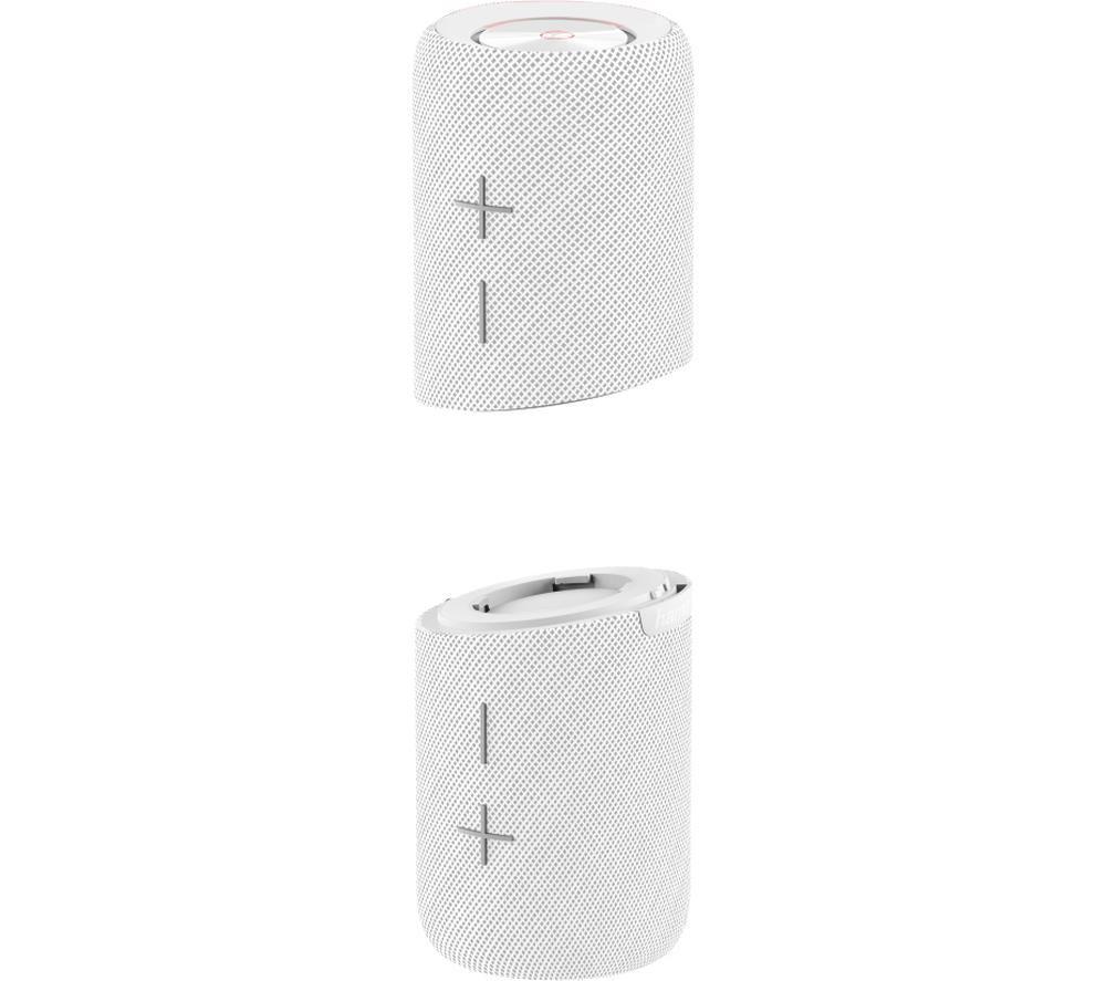 HAMA Twin 2.0 Portable Bluetooth Speaker - White