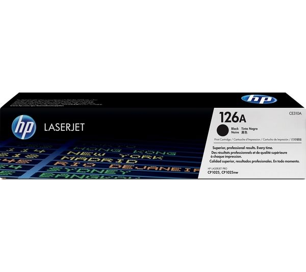 Compare retail prices of HP 126A Black Toner Cartridge to get the best deal online