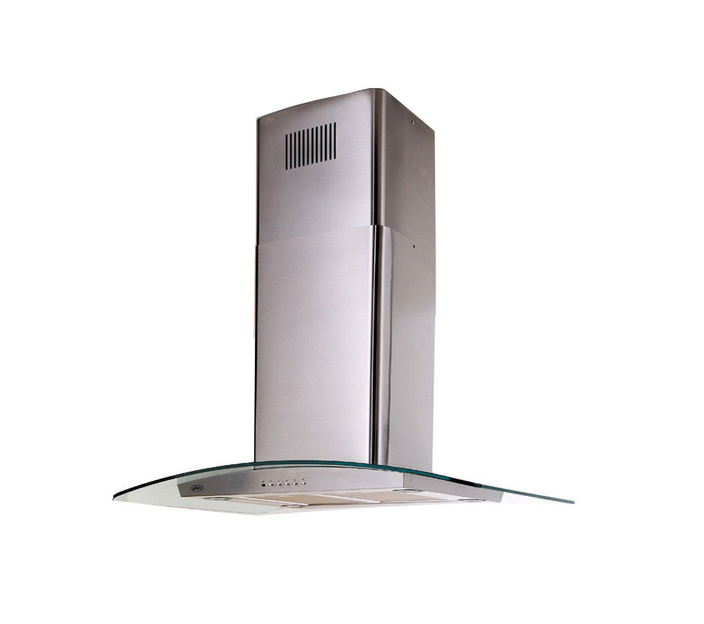 BELLING 90DIH Island Cooker Hood - Stainless Steel, Stainless Steel