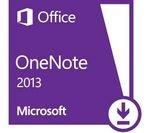 MICROSOFT OneNote 2013 - 1 user (download)