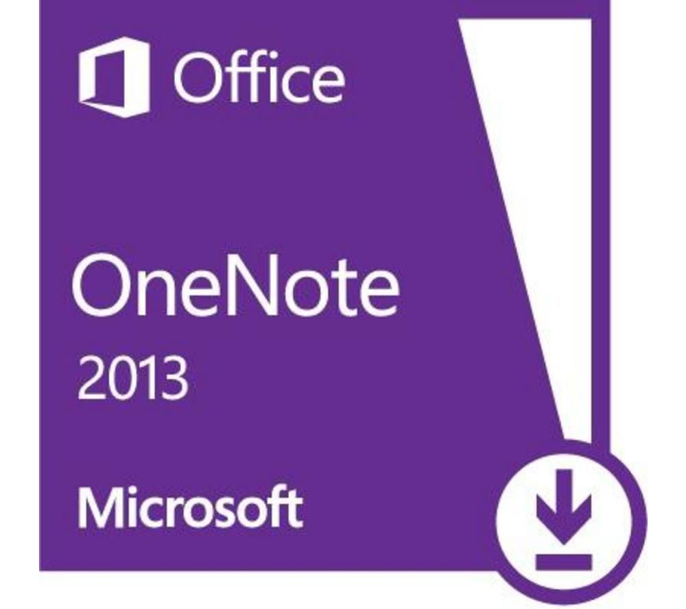 MICROSOFT OneNote 2013 - 1 user (download)