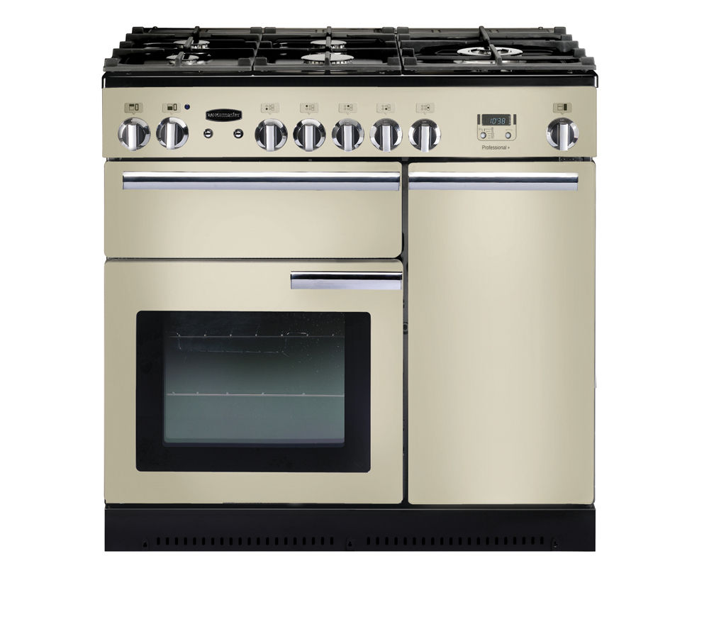 buy rangemaster professional 90 gas range cooker cream. Black Bedroom Furniture Sets. Home Design Ideas