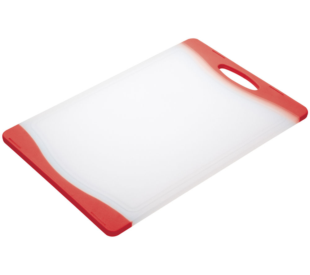 COLOURWORKS 35 cm x 24 cm Cutting Board - Red