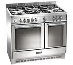 BAUMATIC BCD925SS Dual Fuel Range Cooker - Stainless Steel