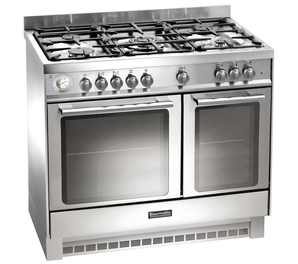Image of BAUMATIC BCD925SS Dual Fuel Range Cooker - Stainless Steel, Stainless Steel