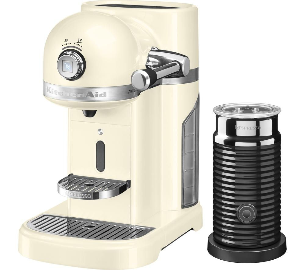 Compare retail prices of Nespresso Artisan Nespresso Hot Drinks Machine with Aeroccino 3 to get the best deal online