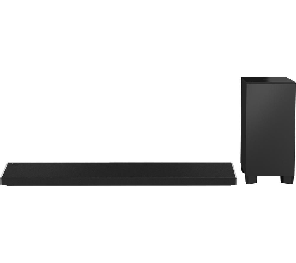 PANASONIC SC-ALL70TEBK 3.1 Wireless Sound Bar + SC-ALL2EB-K Wireless Smart Sound Multi-Room Speaker - Black