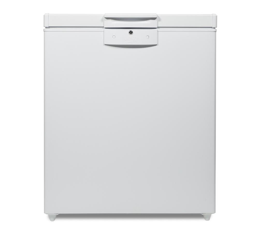 BEKO CF625W Chest Freezer - White + Select DSX83410W Heat Pump Tumble Dryer - White