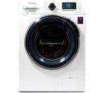 SAMSUNG AddWash WW80K6414QW Washing Machine - White