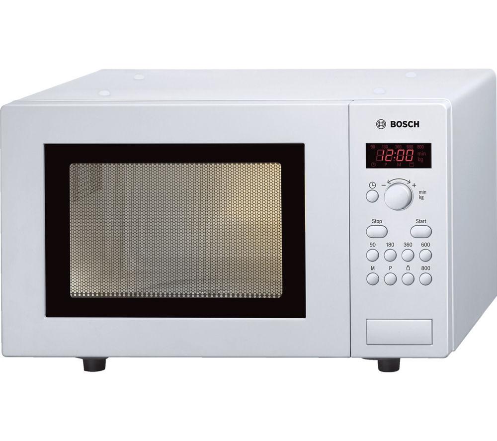 BOSCH HMT75M421B Solo Microwave - White
