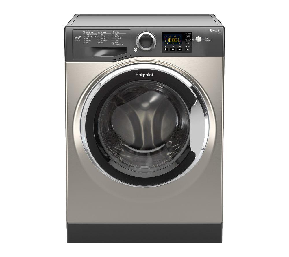 HOTPOINT Smart+ RSG 845 JGX Washing Machine - Graphite