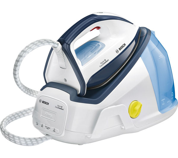 Image of BOSCH Easy Comfort TDS6010GB Steam Generator Iron - White & Blue
