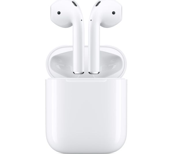 5b393658a5d Buy APPLE AirPods Wireless Bluetooth Headphones - White | Free ...