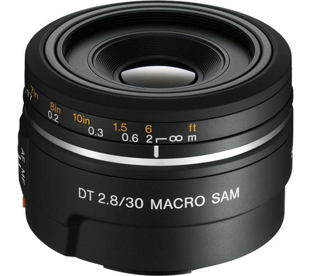 SONY DT 30 mm f/2.8 SAM Macro Lens