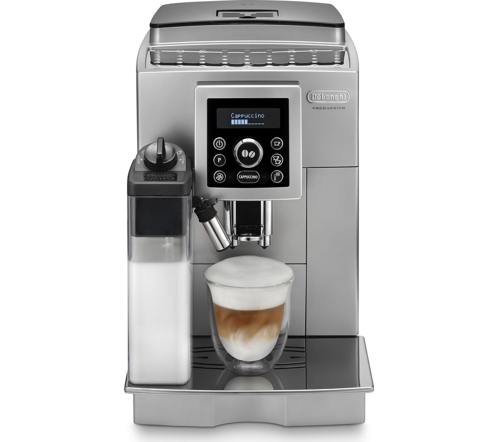 u_10152771 buy delonghi ecam23 460 bean to cup coffee machine silver  at edmiracle.co