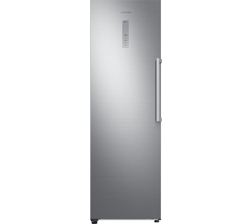 SAMSUNG RZ32M71207F/EU Tall Freezer - Refined Steel + RR39M7140SA/EU Tall Fridge - Graphite