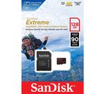 SANDISK Extreme Class 10 microSDXC Memory Card - 128 GB
